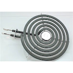 Top Surface Burner, 6 inch , for General Electric, Ap2634727, Ps243867, Wb30m1, Gray