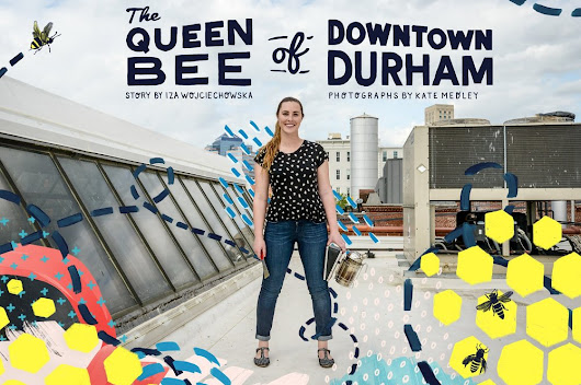 The Queen Bee of Downtown Durham
