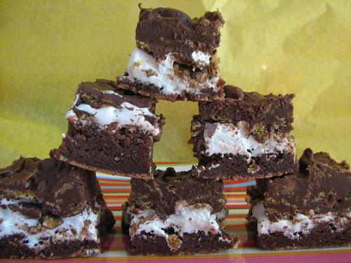 Chocolate Crunch Brownies