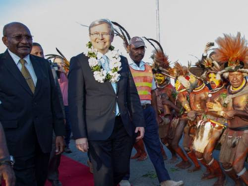 Trade between Australia and PNG, it's closest neighbour, is approximately $7 billion a year. (AAP)