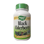 Nature's Way Black Elderberry, 100 Vegetarian Capsules