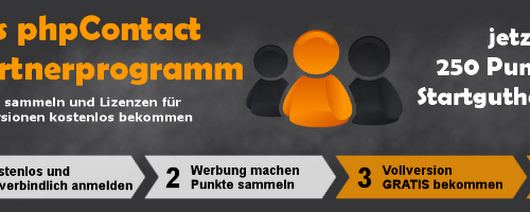 das phpContact Partnerprogramm - phpContact - Formmailer