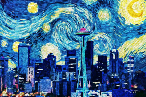 Starry Seattle