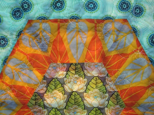 Wedding quilt detail