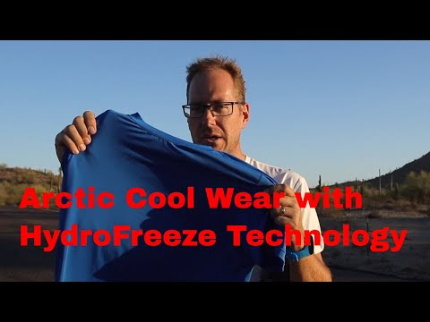 Arctic Cool Wear with HydroFreeze Technology
