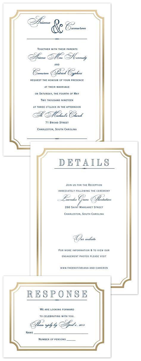 Best 25  Framed wedding invitations ideas on Pinterest