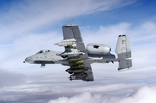 A-10 Warthog, the supreme force on the battlefield
