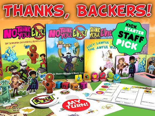 No Thank You, Evil! a Game of Make-Believe for Families by Monte Cook Games — Kickstarter