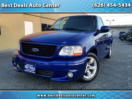 Used 2003 Ford F-150 for Sale in El Monte CA 91733 Best Deals Auto Center