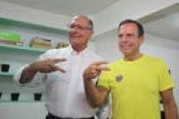 É a primeira vez que o governador se manifestou publicamente a favor de Doria nas eleições que vão definir o candidato da sigla para disputar a prefeitura de São Paulo