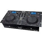 Gemini CDM-4000 2-Channel DJ Controller - Rack-mount - USB