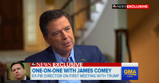 LORDY! Comey Won't Rule Out A Golden-Showers Tape. George Stephanopoulos' interview with Comey in which...