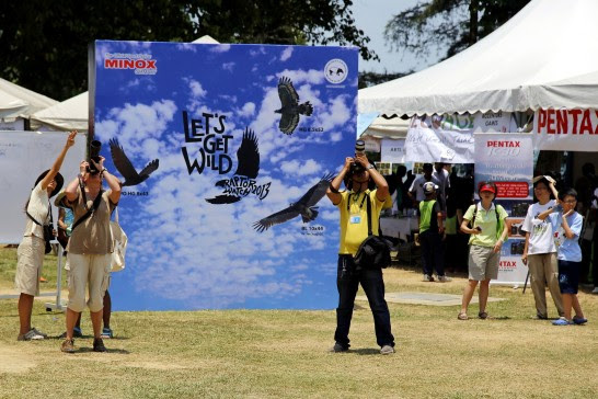 Raptors Watch 2013 event by the Malaysian Nature Society