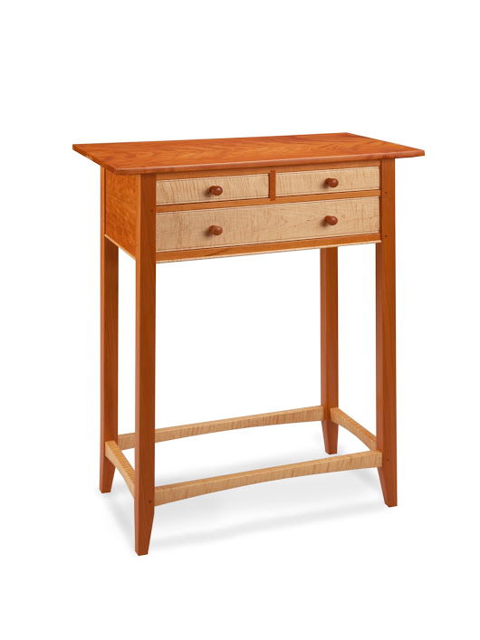 Tatianna Hall Table by Tom Dumke (Wood Hall Table - STUDIO SALE) | Artful Home