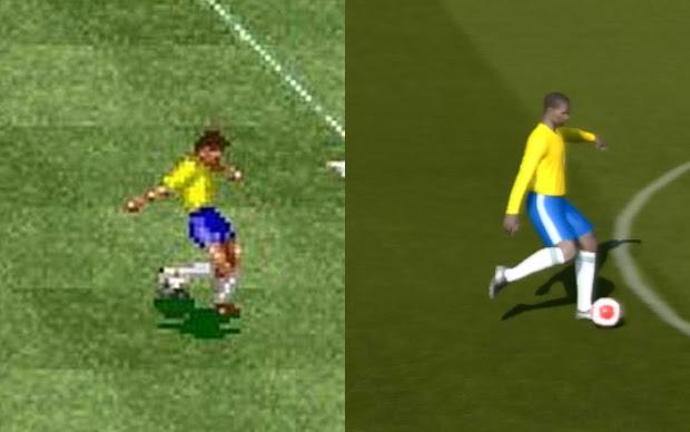 A evoluçao de Allejo em International Superstar Soccer e PES 2014 (Foto: Reprodução / TechTudo)