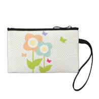 Butterflies & Daisys Change Purses
