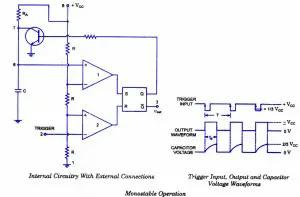 555 monostable-multivibrator-operation