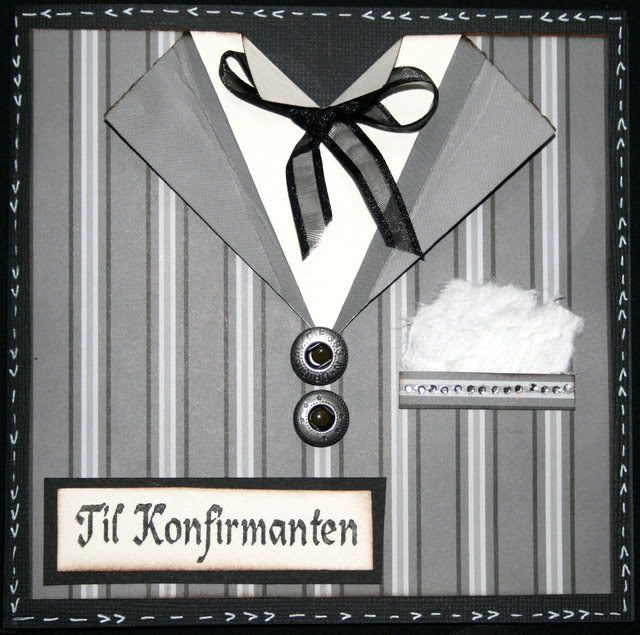 Konfirmasjonskort til Ernst