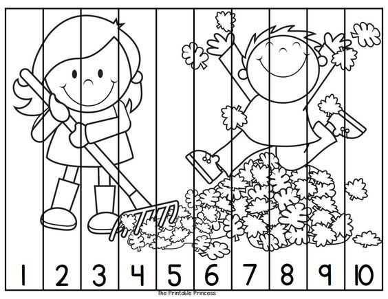 Sayıları Puzzle Yaparak öğrenelim Okul öncesi Etkinlik Faliyetleri