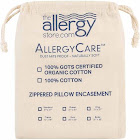 Allergy Store AllergyCare Organic Cotton Pillow Cover | Buy 2 Get 1 Free Sale | Allergy-Reducing Relief