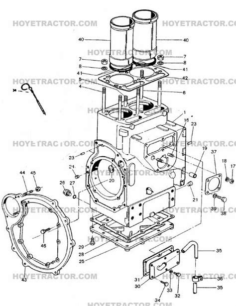 BLOCK: Yanmar Tractor Parts