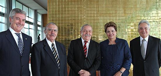 Collor, Sarney, Lula, Dilma e FHC