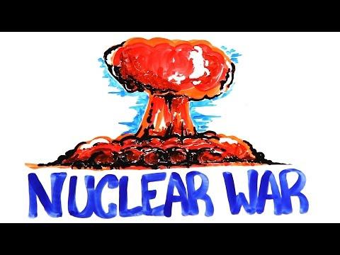 Você sabe o que acontece durante uma explosão atômica?