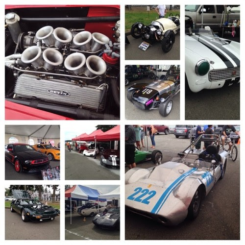 Day 15: Enjoying the Vintage Races #93daysofsummer #summer2014 #lovecars (at Pacific Raceways)