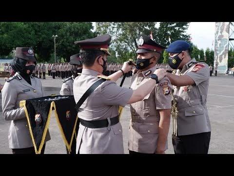 Kapolda Sulawesi selatan, Pimpin Upacara Pelantikan dan Pengambilan Sumpah Bintara Remaja Polri Angkatan 45 TA. 2020-2021