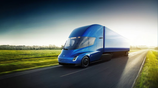 Tesla Semi revealed: the electric truck that goes from 0 to 60 in five seconds