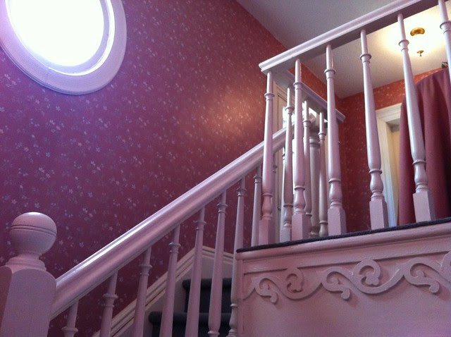 main staircase details