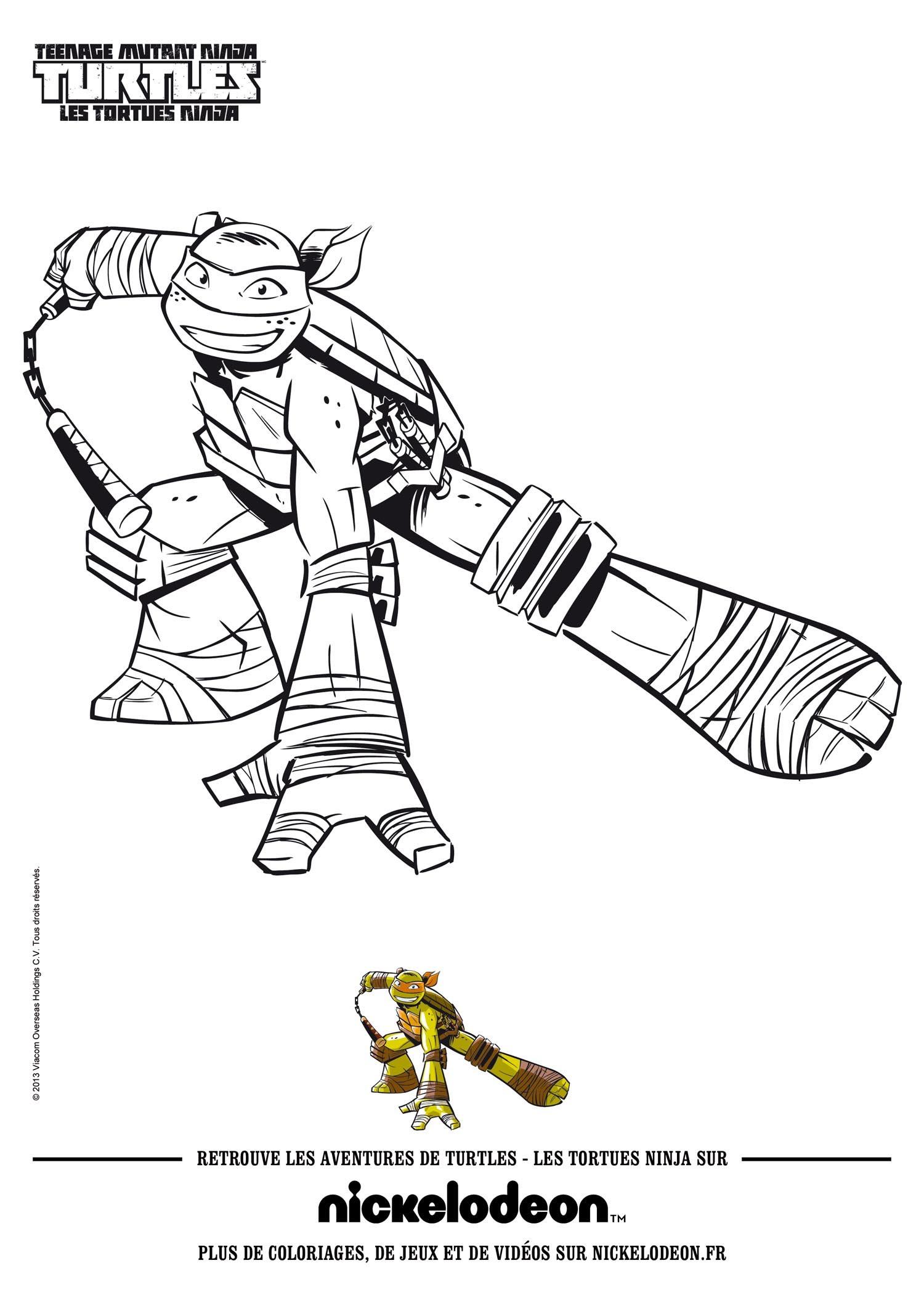 Raphael la tortue ninja Michelangelo