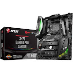 MSI X470 GAMING Pro CARBON with AMD X470 ATX Motherboard - Socket AM4