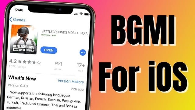 Can we play Battle Grounds Mobile India on IOS ?