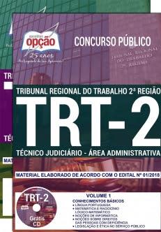 Concurso TRT 2ª Região 2018-TÉCNICO JUDICIÁRIO - ÁREA ADMINISTRATIVA