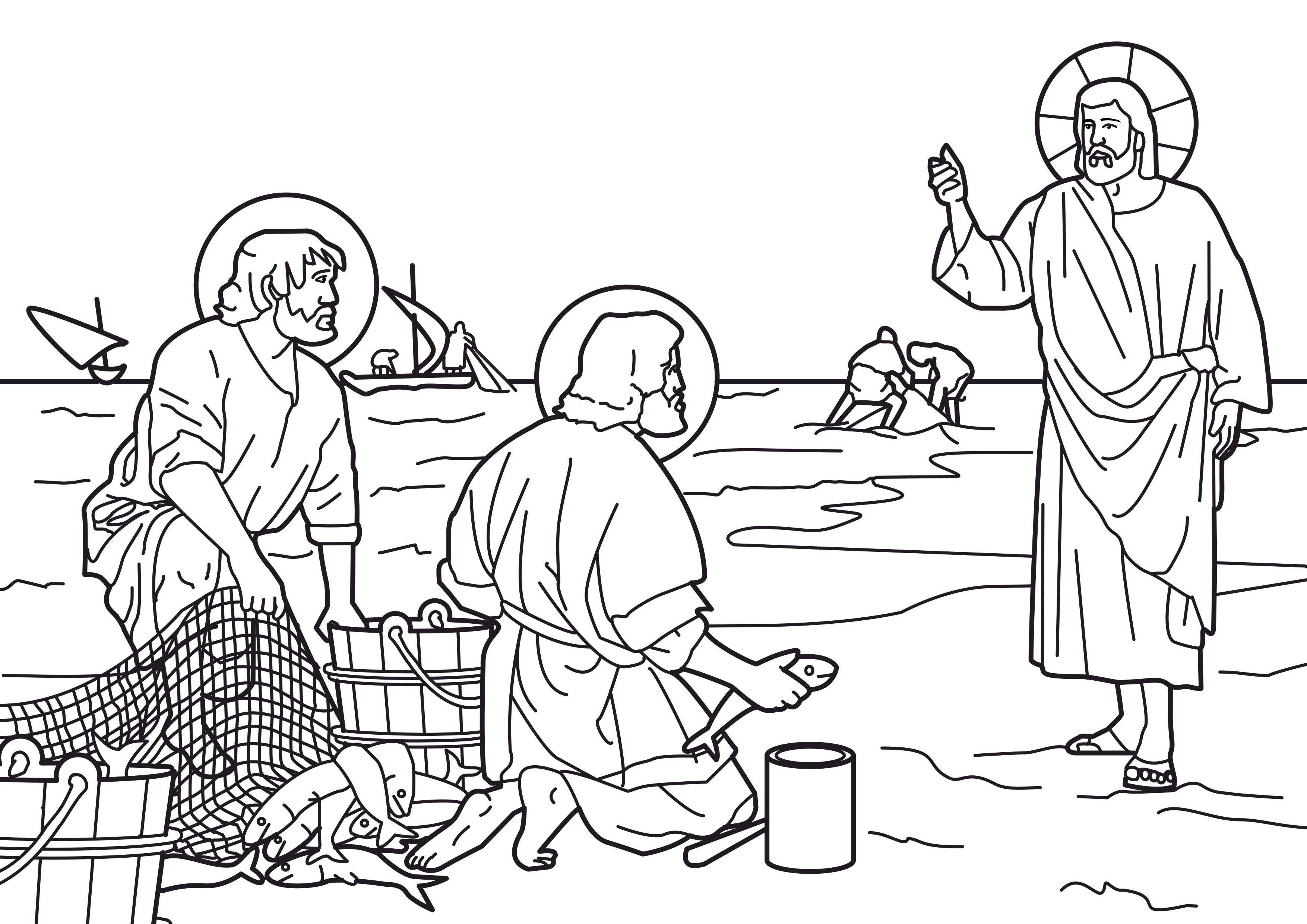 Familia Católica: Vida Pública de Jesús: Hermosas páginas para ...
