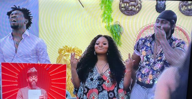 """BBNaija: """"Boma and I played a script. We are good actors. My husband is a bad guy. He'll understand"""" – Tega tells Ebuka after her eviction"""