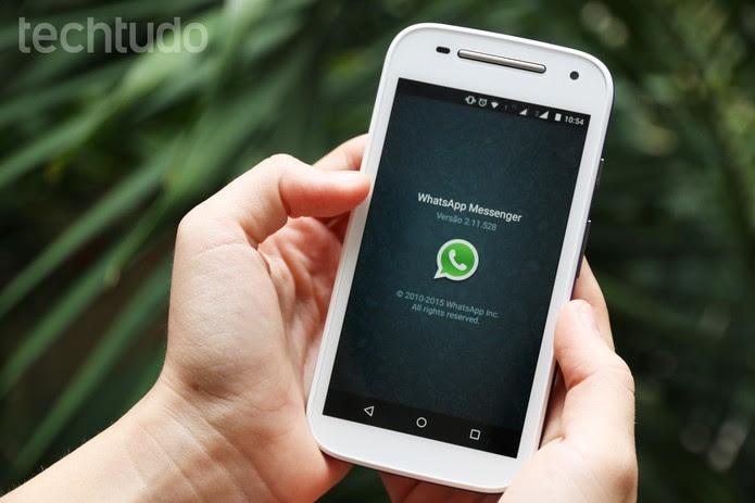 Desativando a conta do WhatsApp remotamente em caso de roubo ou perda (Foto: Lucas Mendes/TechTudo)