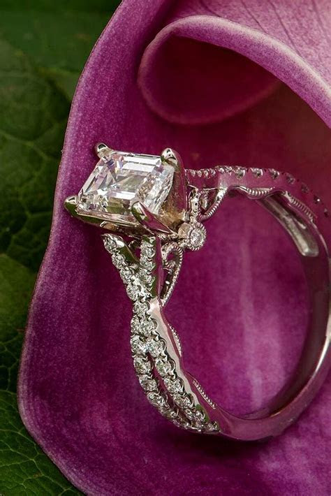 30 Unforgettable Princess Cut Engagement Rings To Get Her