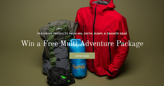 Enter To Win A Free Multi Adventure Package!
