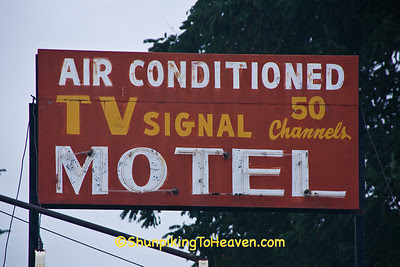 Antique Motel Sign, Winona County, Minnesota