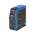 Graupner Polaron AC/DC Sports Charger, Blue