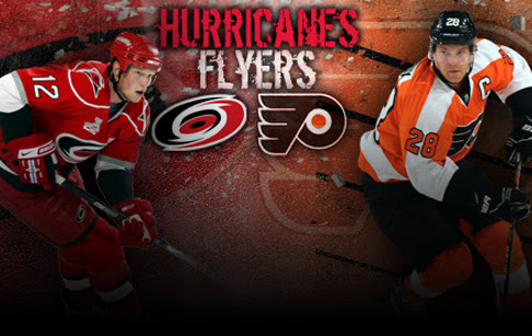 FIVE THINGS: Flyers at Carolina Hurricanes
