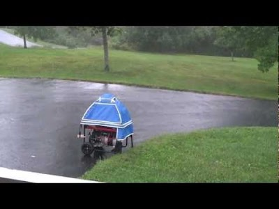 GenTent Canopy keeps portable generators operating safely in inclement weather