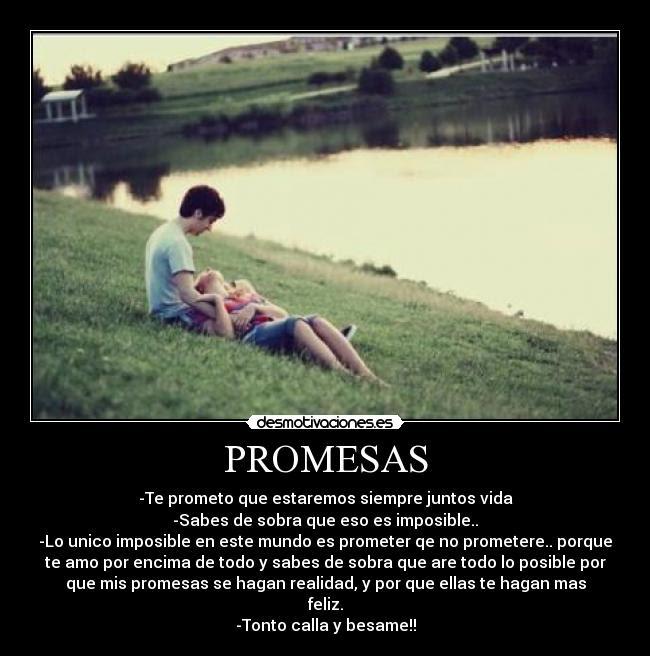 Promesas Desmotivaciones