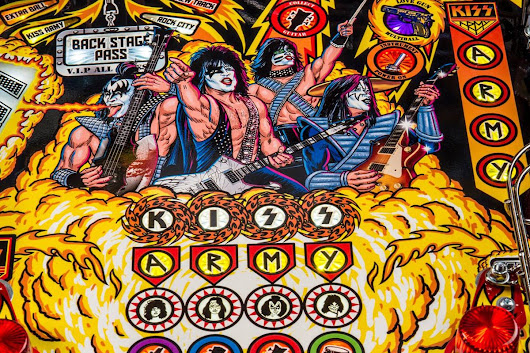 Rock and Roll All Nite With a KISS Pinball Machine! - GeekDad
