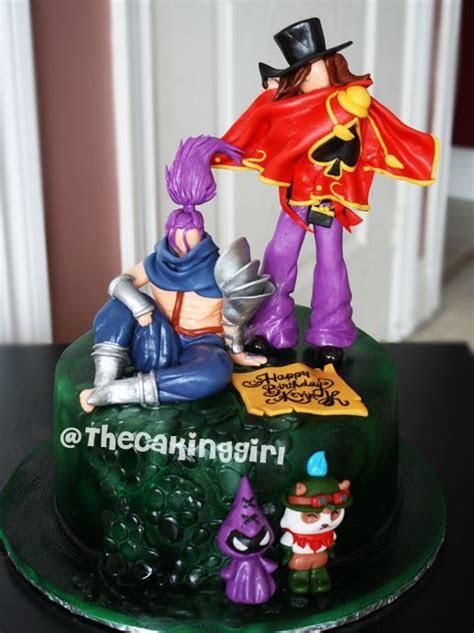 15 best league of legends cakes images on Pinterest