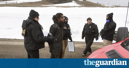 Police remove last Standing Rock protesters in military-style takeover | US news | The Guardian
