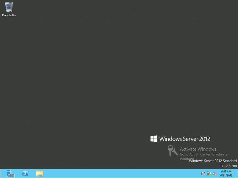 activate windows server 2012