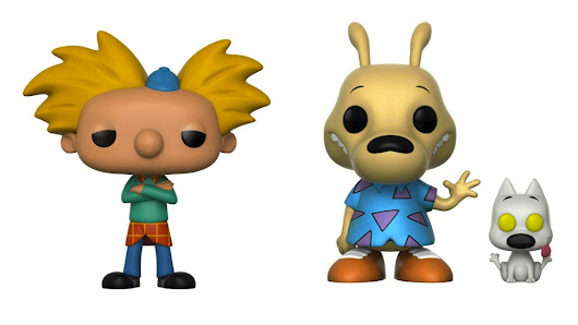 HEY ARNOLD, ROCKO, and ANGRY BEAVERS Are Now Funko POPs | Nerdist